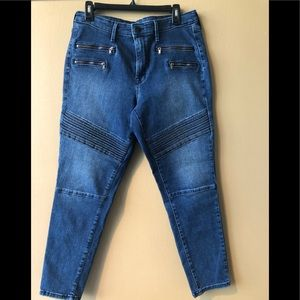 Mossimo High Rise Skinny Denim Jeans.
